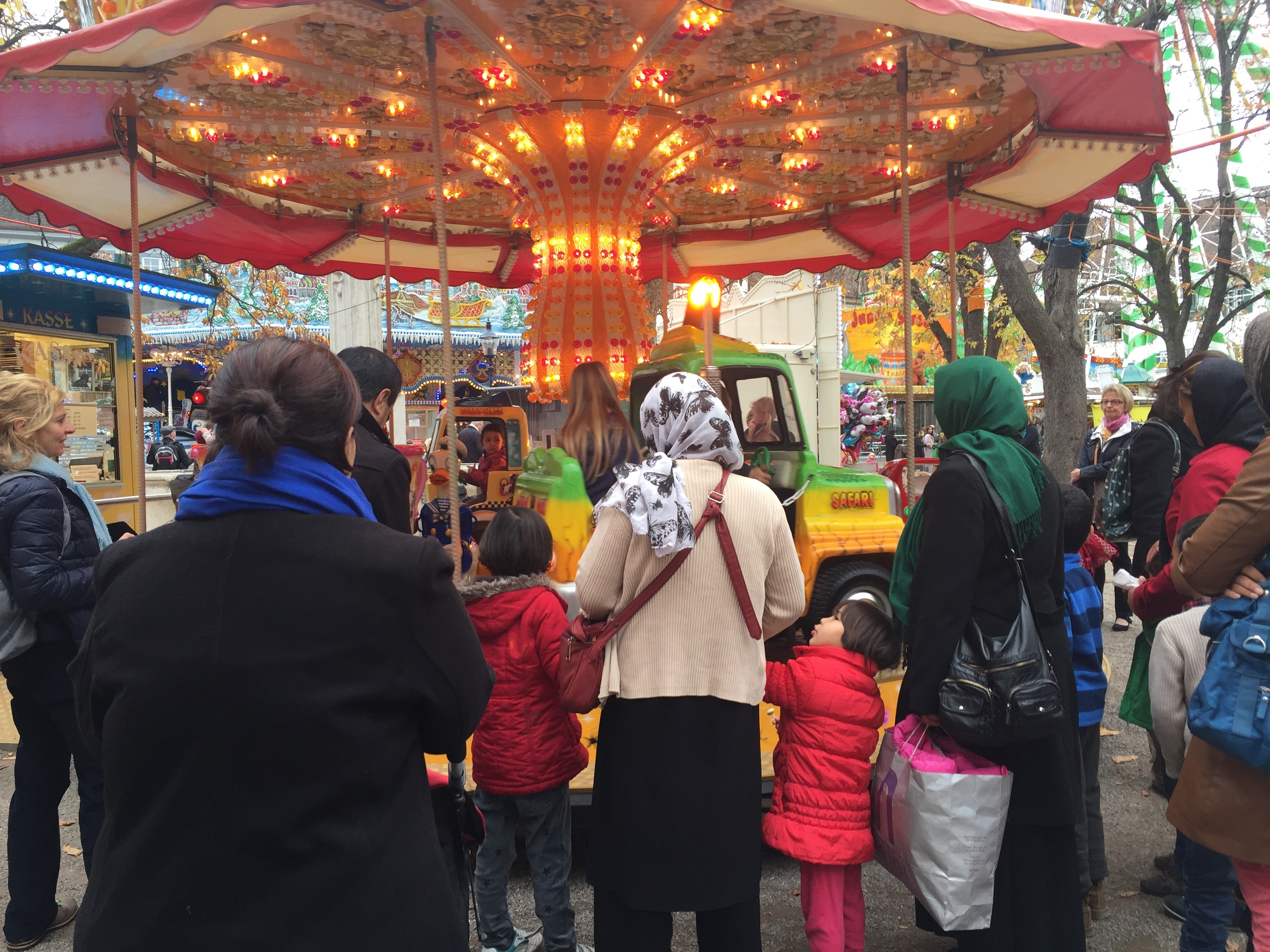 All the fun of the fair: the emotional roller coaster for one Syrian family adjusting to their new Swiss home