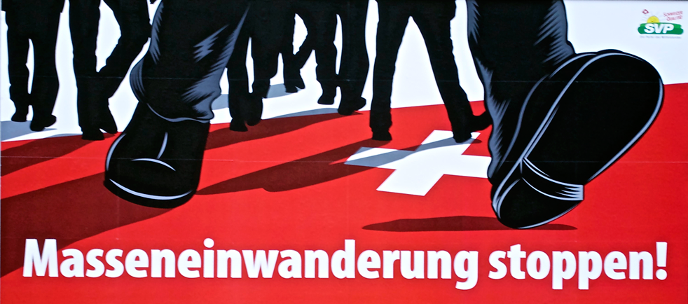 Swiss political posters  - the contentious images that frighten and offend – but not enough to remove them