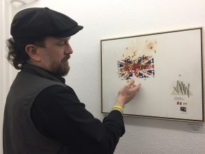 Artist Christopher Wishart