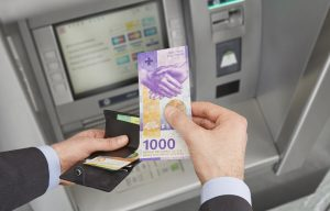 CHF1000 note